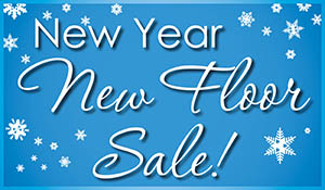Save up to 25% off exclusive brands during the New Year New Floor sales event at Towne Pride Interiors Abbey Flooring Center.  Sale ends 2/28/19.