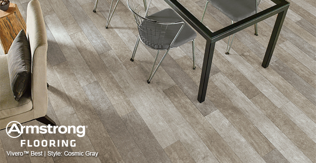 Armstrong Flooring Vivero™ Best | Style: Cosmic Gray